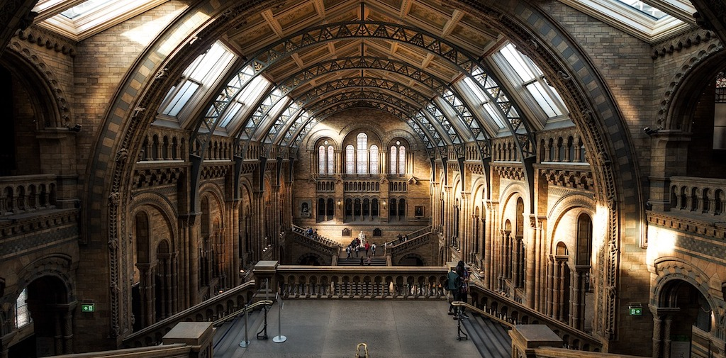 Unique hotel Natural History Museum, United Kingdom