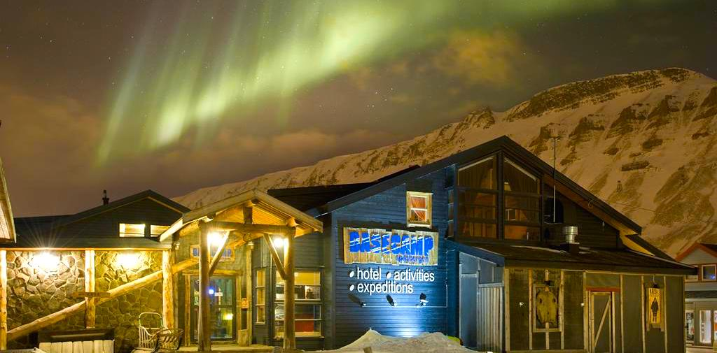 Unique hotel Basecamp Hotel, Norway