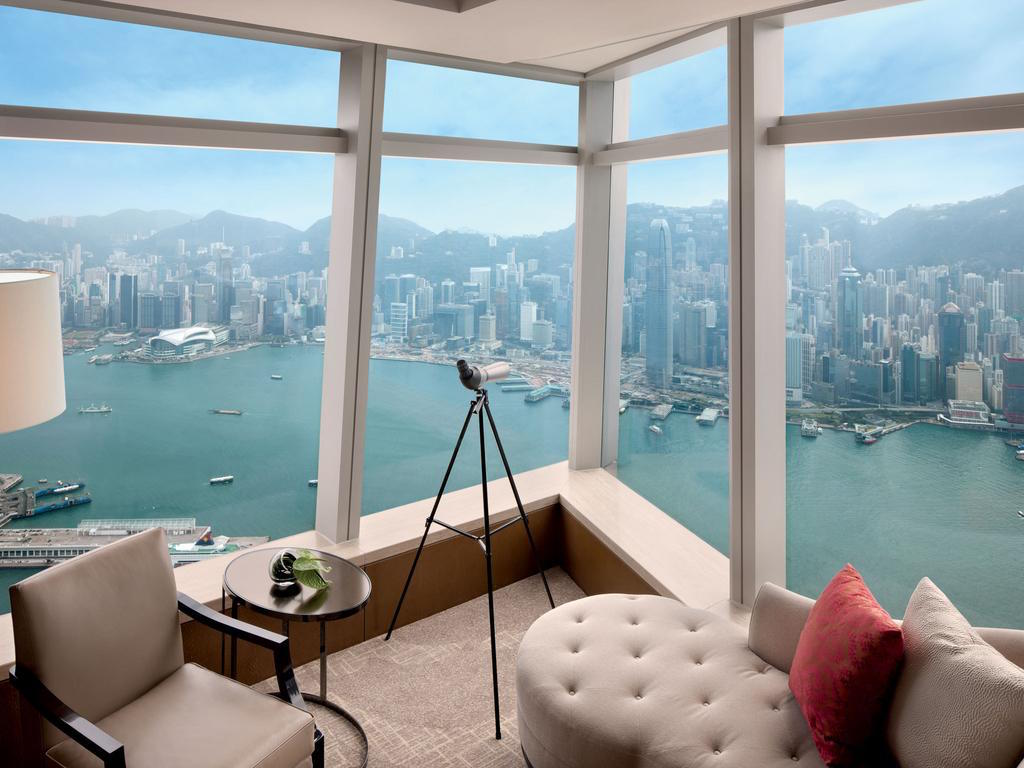Unique hotel Ritz Carlton Hong Kong2, Hong Kong