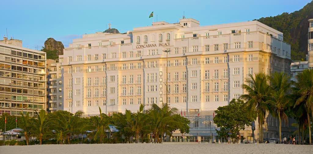 Unique hotel Copacabana Palace, Brazil