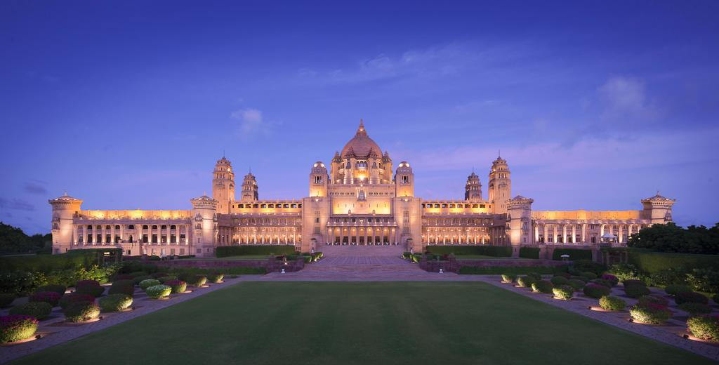 Unique hotel Umaid Bhawan Palace, India