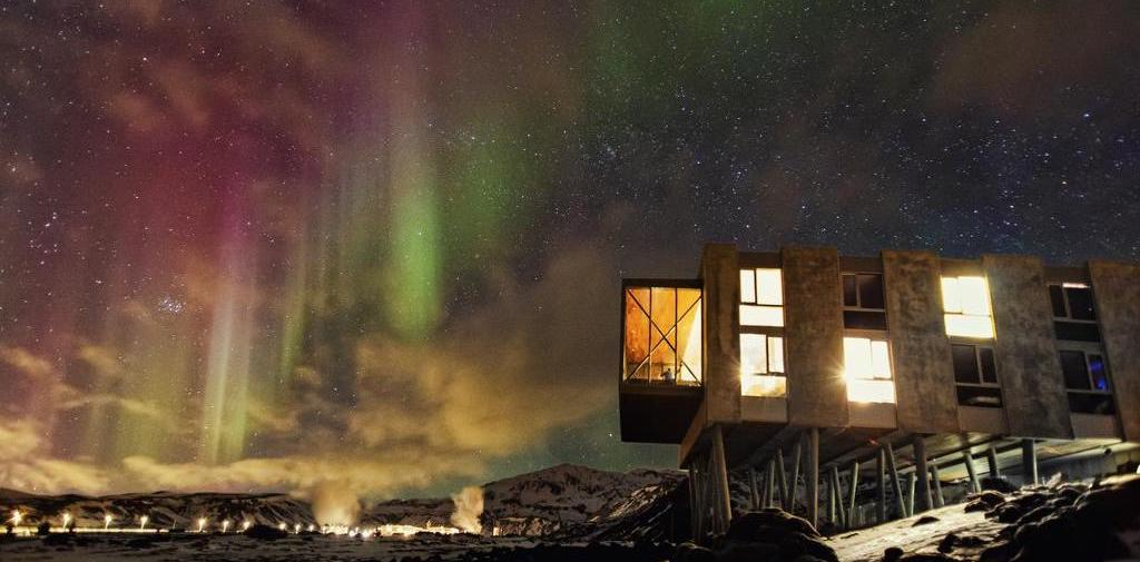 Unique hotel Ion Adventure Hotel, Iceland