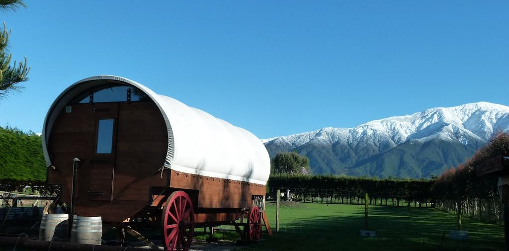 Unique hotel Wacky Stays, New Zealand