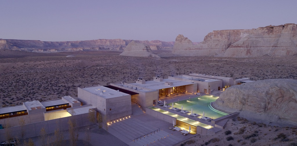 Unique hotel Amangiri, United States