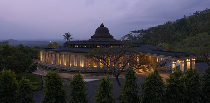 Unique hotel Amanjiwo, Indonesia