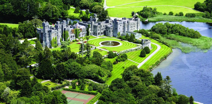 Unique hotel Ashford Castle, Ireland