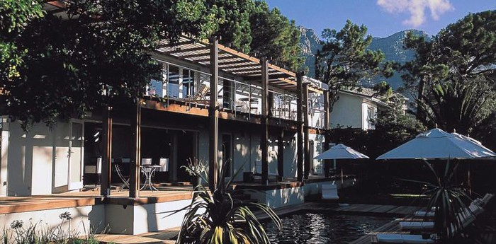 Unique hotel Atlantic House, South Africa