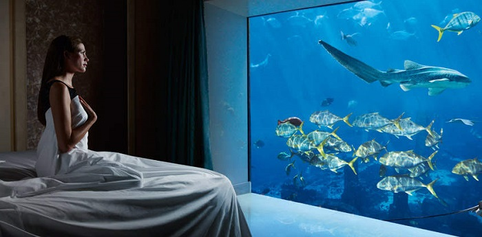 underwater hotel atlantis. Unique Hotel Atlantis Underwater Suites, United Arab Emirates R