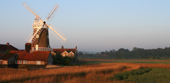 Unique hotel Cley Windmill, United Kingdom