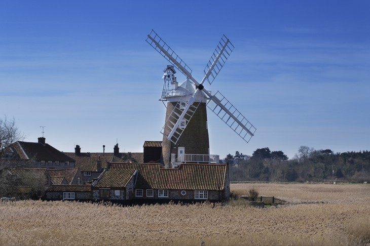 Unique hotel Cley Windmill2, United Kingdom