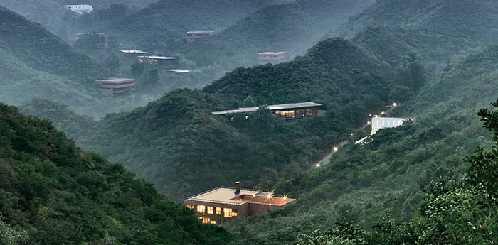 Unique hotel Commune By The Great Wall, China
