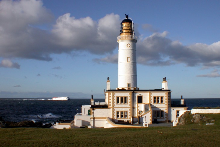 Unique hotel Corsewall Lighthouse1, Scotland