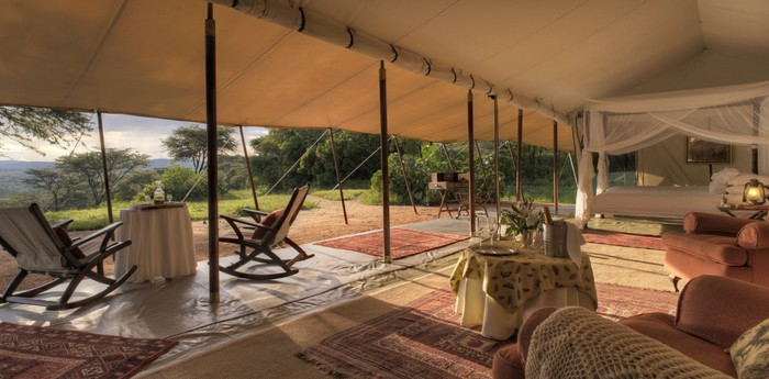 Unique hotel Cottars 1920s Camp, Kenya