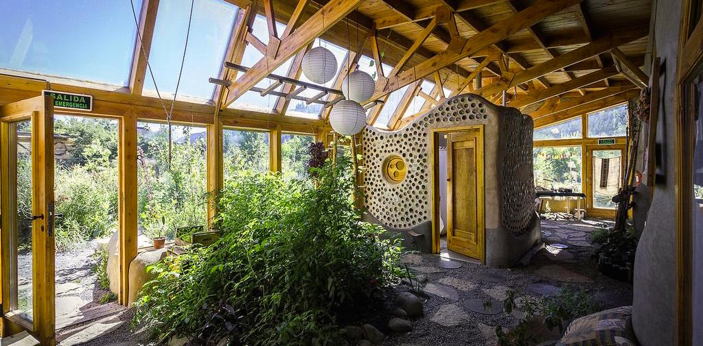 Unique hotel Earthship Patagonia, Argentina