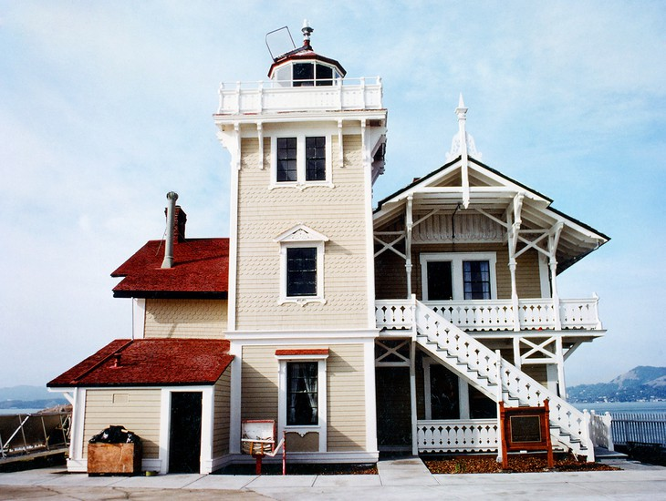 Unique hotel East Brother Light Station5, United States