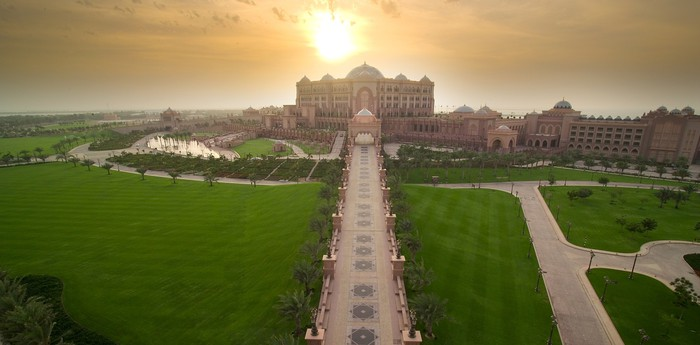 Unique hotel Emirates Palace, United Arab Emirates