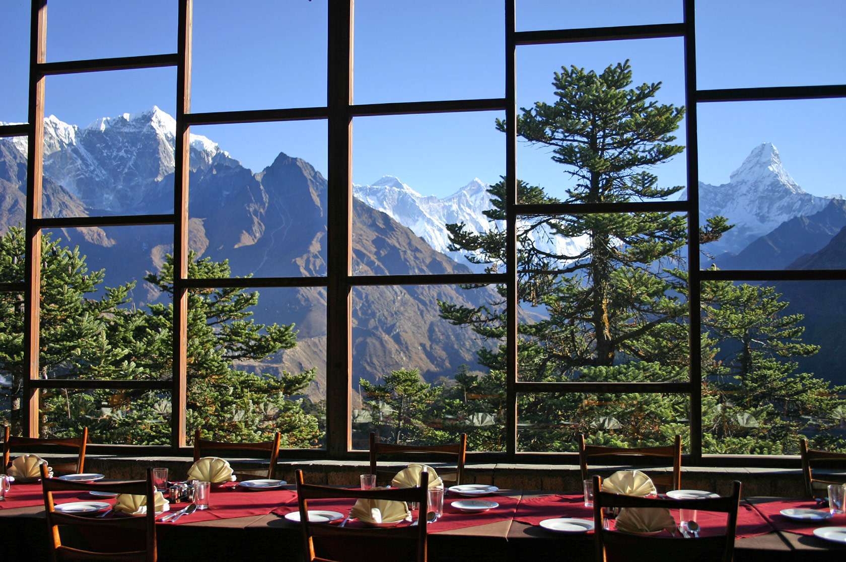 Unique hotel Hotel Everest View1, Nepal