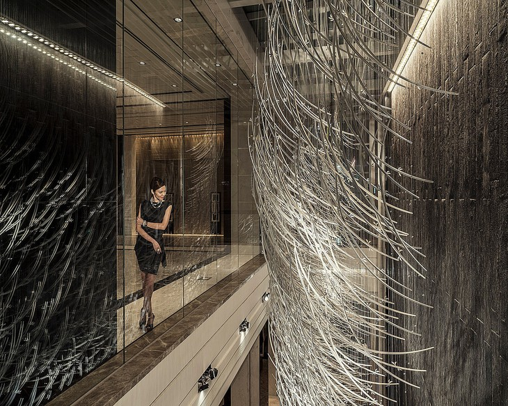 Unique hotel Four Seasons Shanghai Pudong1, China