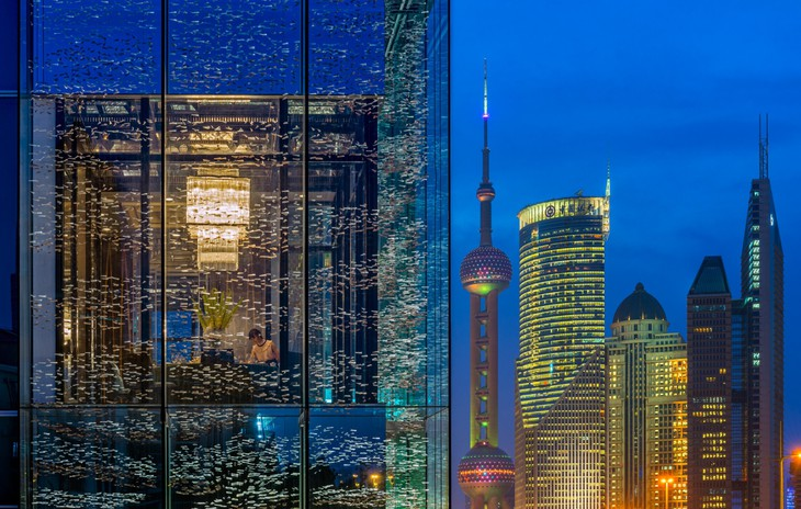 Unique hotel Four Seasons Shanghai Pudong5, China