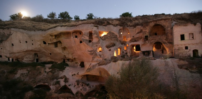 Unique hotel Gamirasu Cave Hotel, Turkey