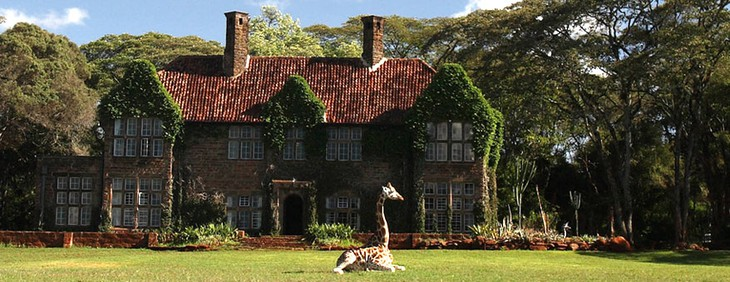 Unique hotel Giraffe Manor5, Kenya