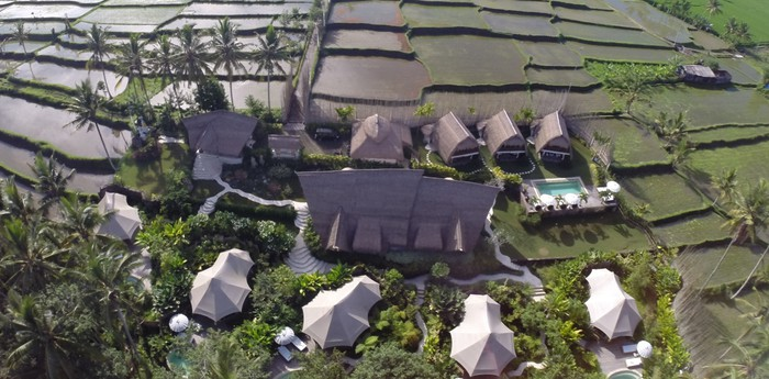 Unique hotel Glamping Sandat, Indonesia
