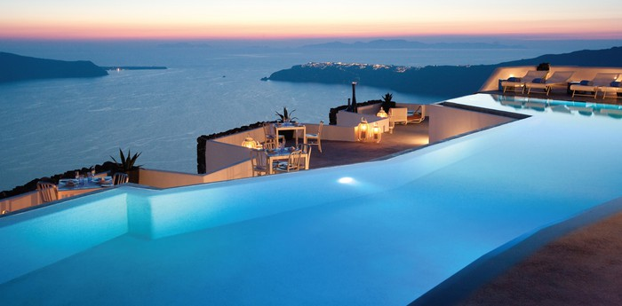 Unique hotel Grace Santorini, Greece