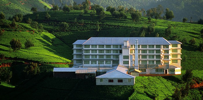 Unique hotel Heritance Tea Factory, Sri Lanka