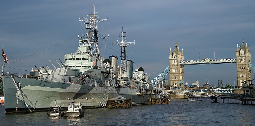 Unique hotel HMS Belfast, United Kingdom