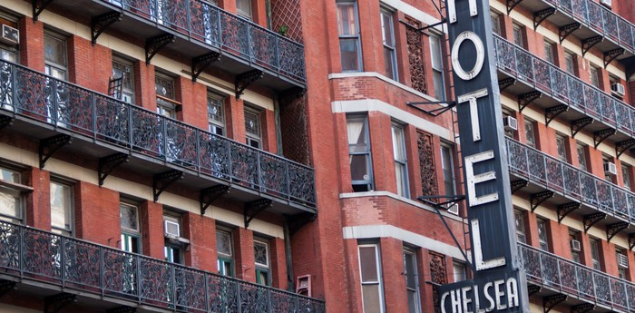 Unique hotel Hotel Chelsea (to be reopened in 2018), United States