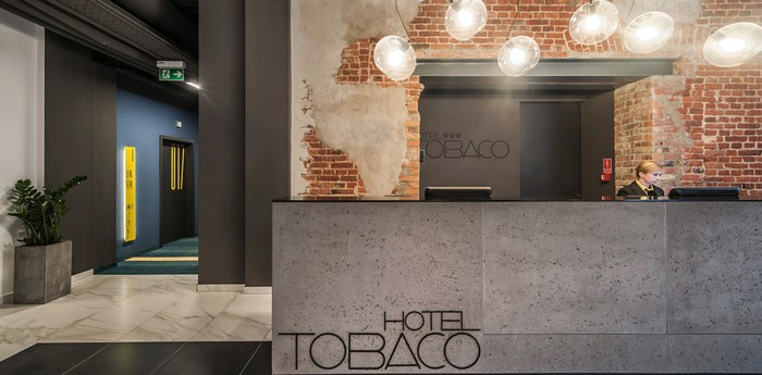 Unique hotel Hotel Tobaco Lodz, Poland