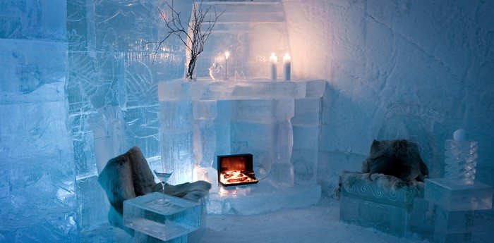 Unique hotel Igloo Hotel, Norway