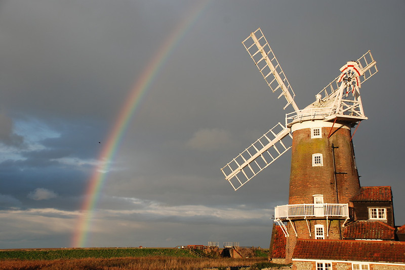 Unique hotel Cley Windmill4, United Kingdom