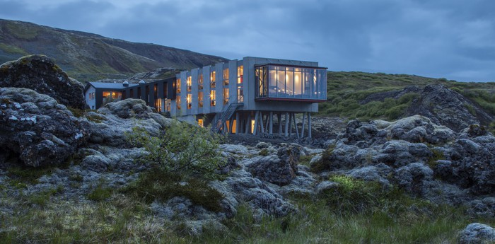 Unique hotel Viking Hotel, Iceland