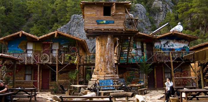 Unique hotel Kadirs Top Tree Houses, Turkey