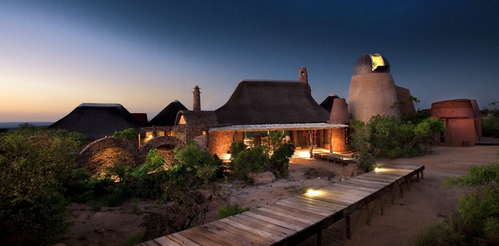 Unique hotel Leobo Private Reserve, South Africa