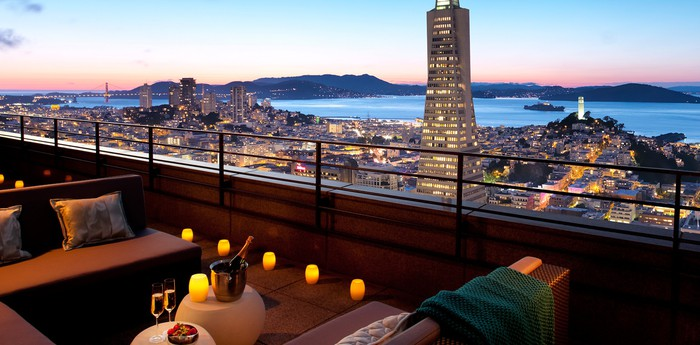 Unique hotel Loews Regency San Francisco, United States
