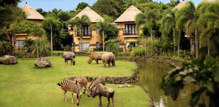 Unique hotel Mara River Safari Lodge, Indonesia
