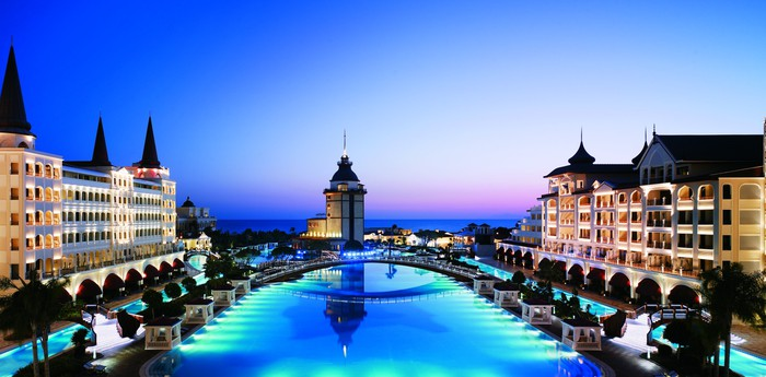 Unique hotel Mardan Palace, Turkey