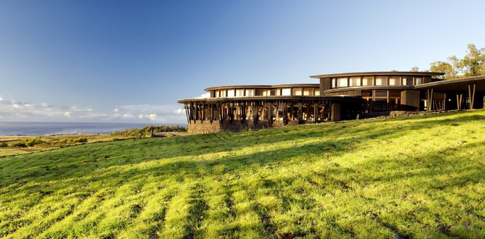 Unique hotel Rapa Nui Hotel, Chile