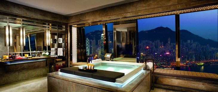 Unique hotel Ritz Carlton Hong Kong1, Hong Kong