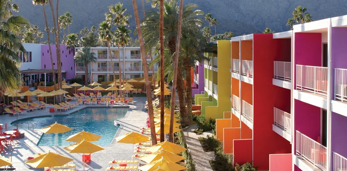 Unique hotel Saguaro Palm Springs, United States
