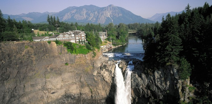 Unique hotel Salish Lodge And Spa, United States