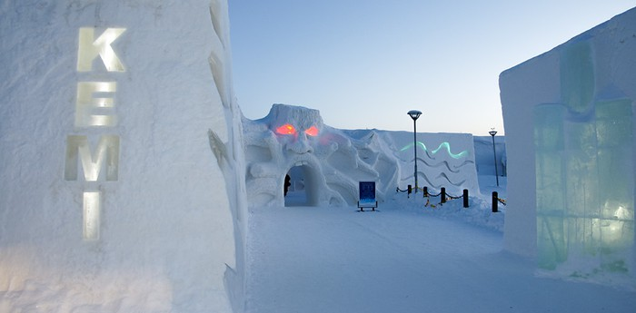 Unique hotel Snowcastle Of Kemi, Finland