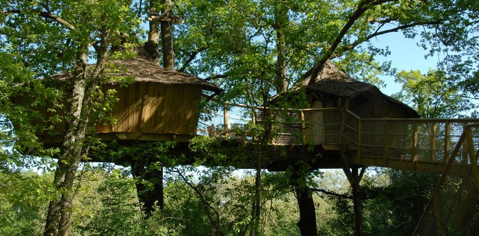 Unique hotel Tree Houses Alicourts, France
