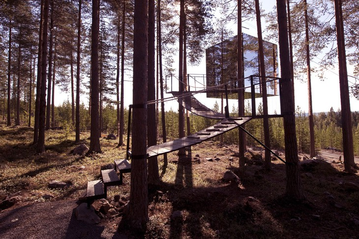 Unique hotel Treehotel2, Sweden