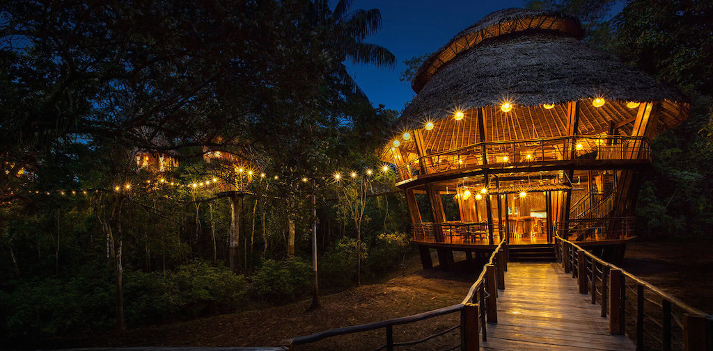Unique hotel Treehouse Lodge, Peru