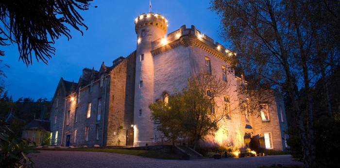 Unique hotel Tulloch Castle Hotel, United Kingdom