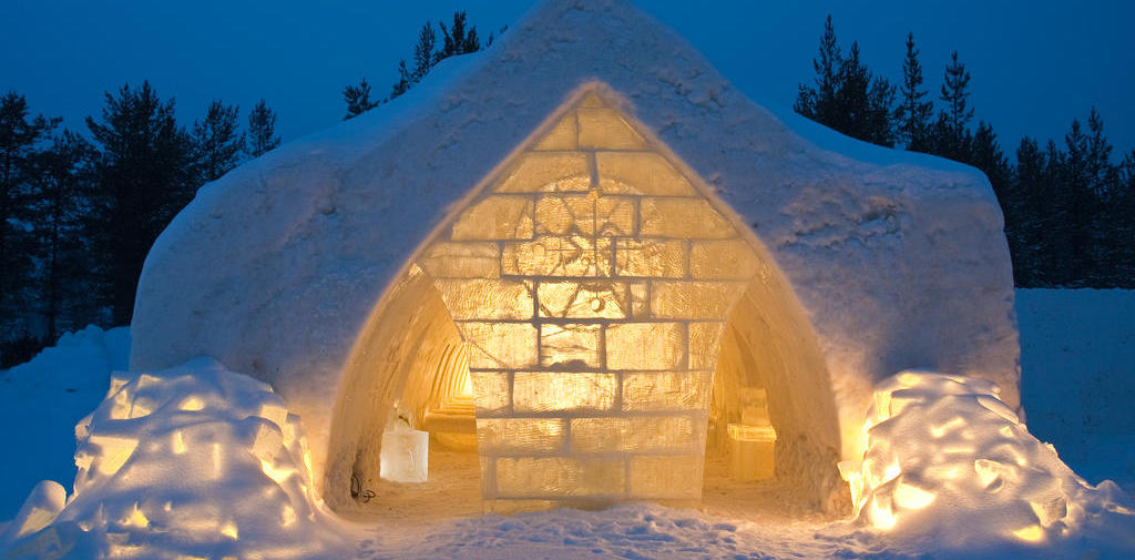 Unique hotel Snow Village, Finland