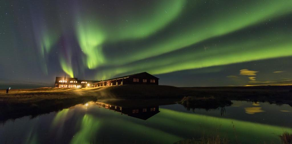 Unique hotel Klængshóll Lodge, Iceland